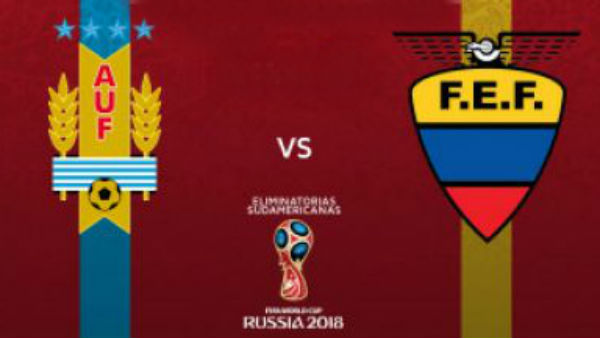 Uruguay Vs Ecuador: horario y ver en vivo por televisión.