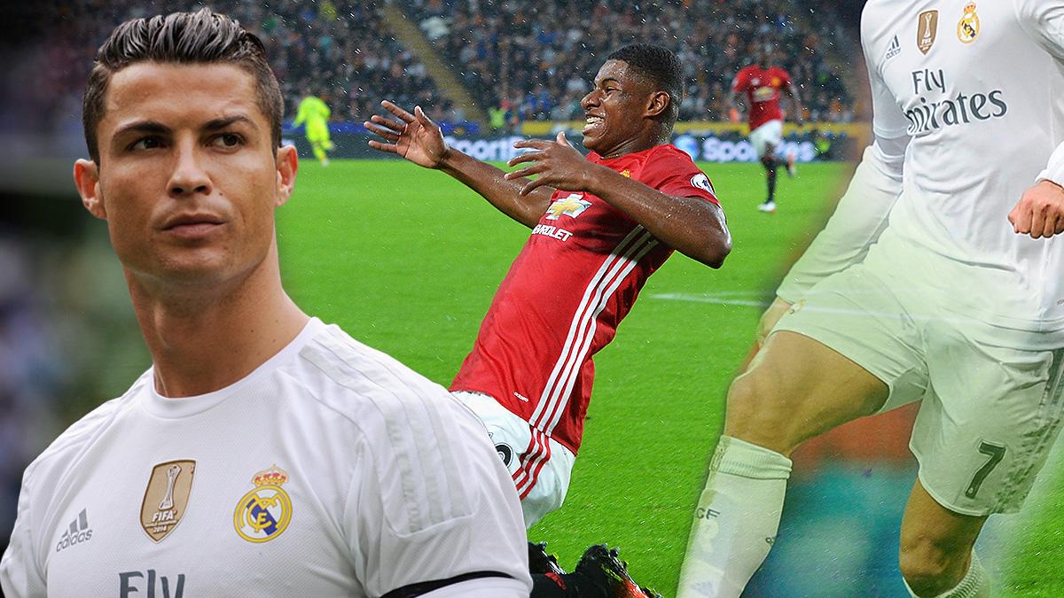 Cristiano Ronaldo es la inspiración de Rashford.