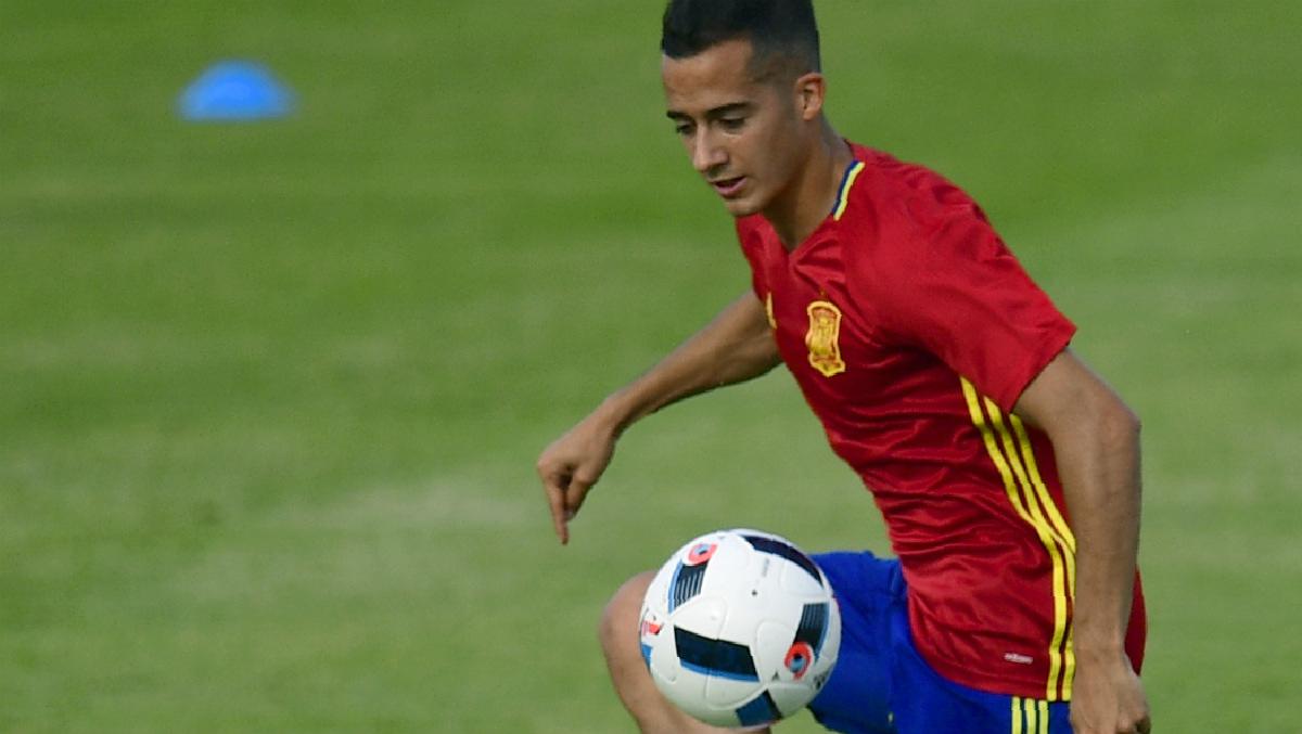 Lopetegui dejó a Lucas Vázquez en la grada. (AFP)