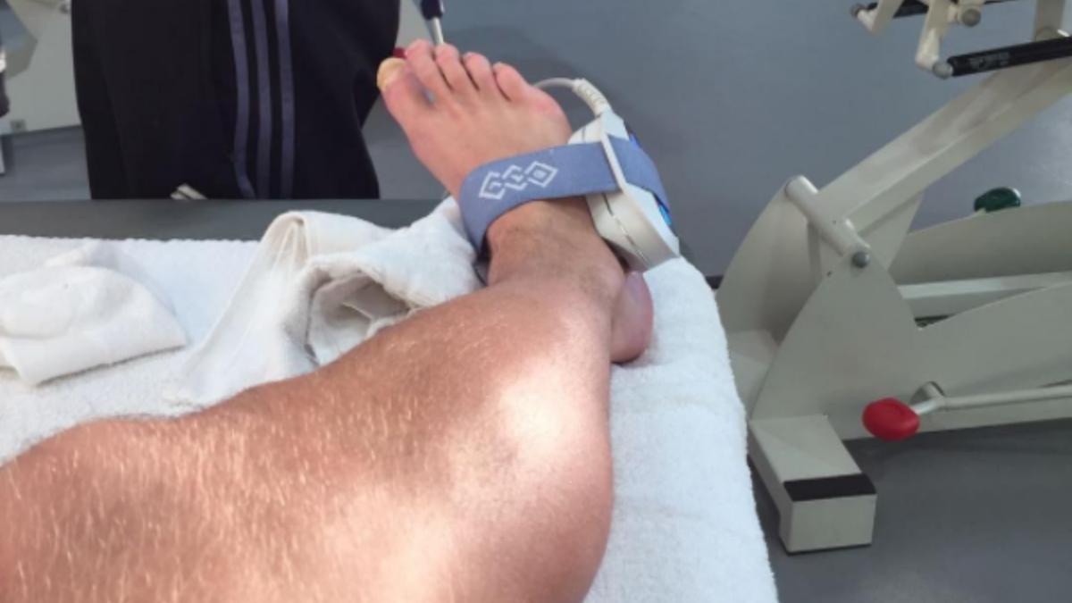 Kroos ya ha empezado su rehabilitación. (Instagram)