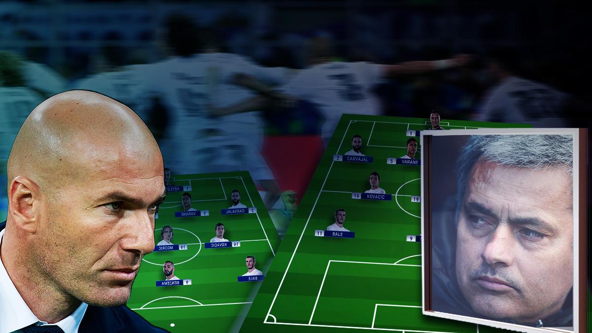Zidane se mira en el espejo de Mou para el derbi