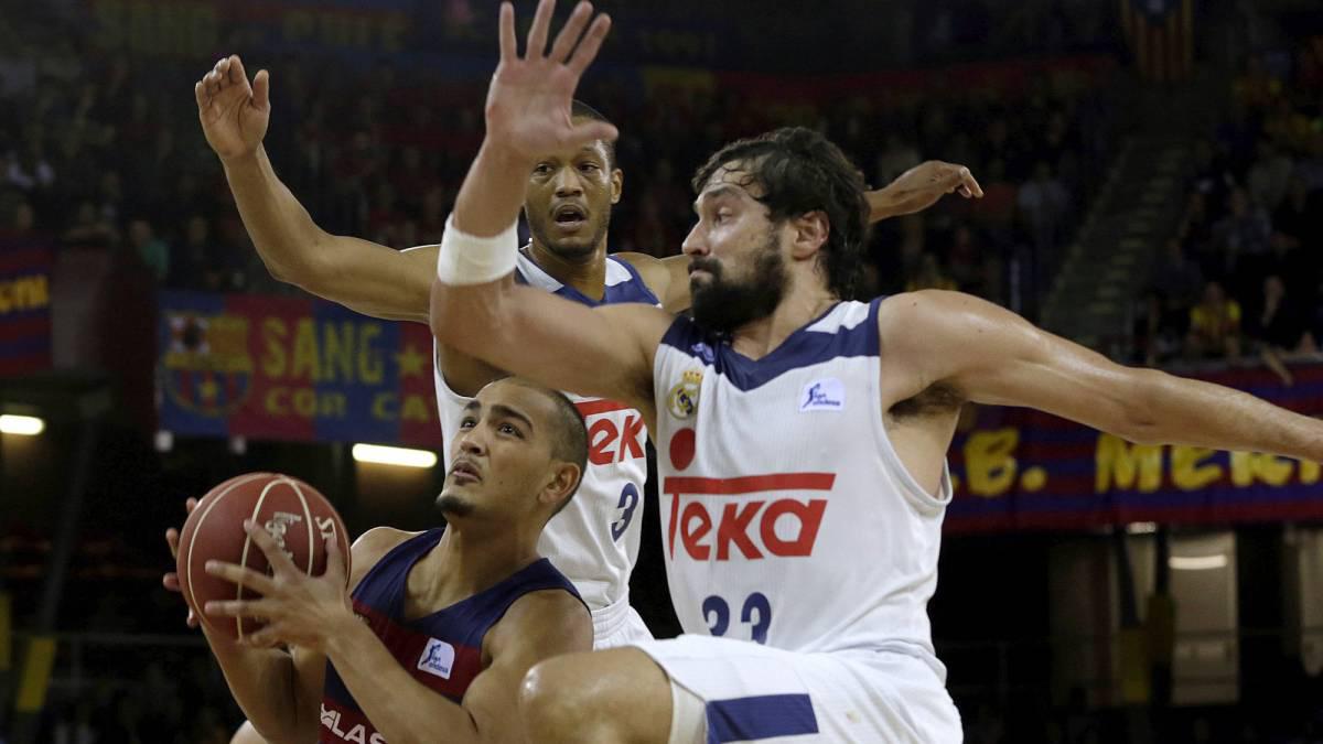 Real Madrid vs Barcelona de baloncesto: horario y ver en vivo por televisión.