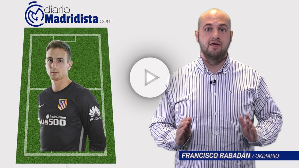 Alineación del Atlético vs Real Madrid