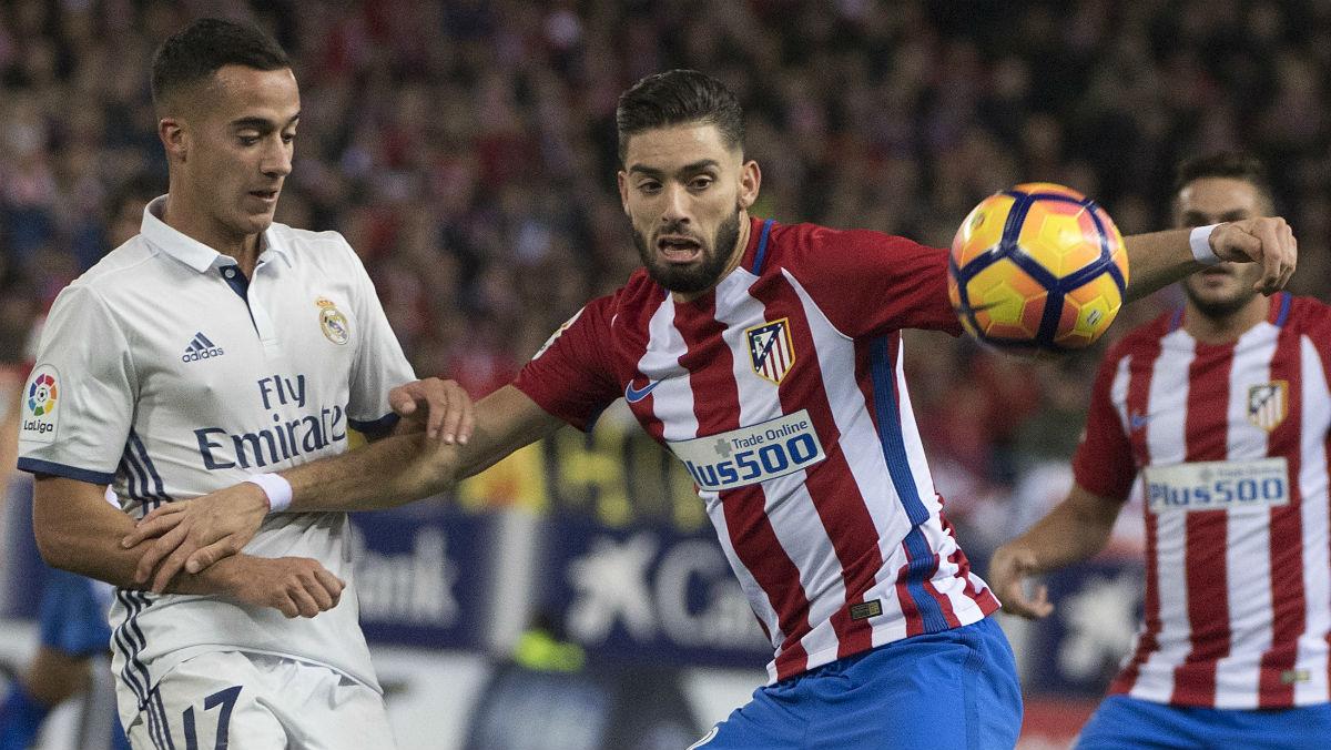 Carrasco fue uno de los mejores del Atlético. (AFP)