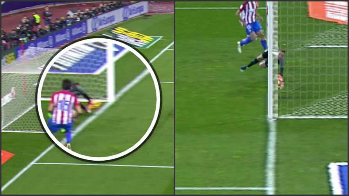 ¿Entró el balón en el remate de Cristiano?