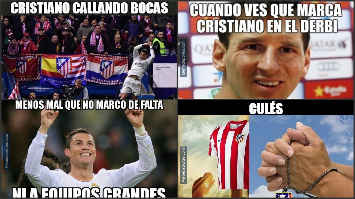 Los memes del derbi madrileño.
