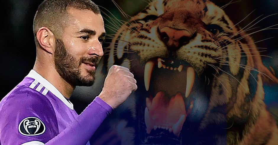 Benzema se transforma en la Champions.