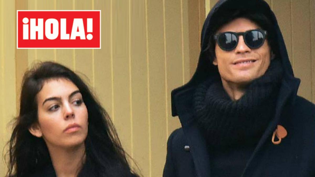 Cristiano Ronaldo junto a su nueva novia, Goergina Rodríguez. (Foto: ¡Hola!)