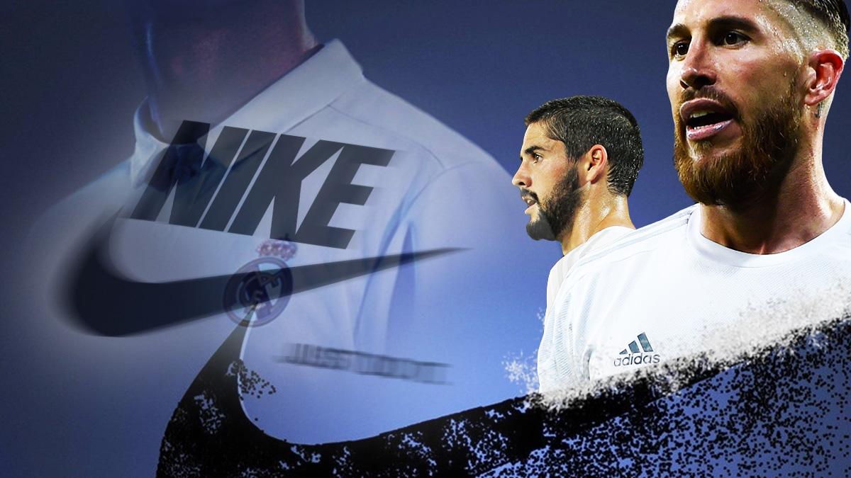 Nike ha renovado a Isco y Ramos.