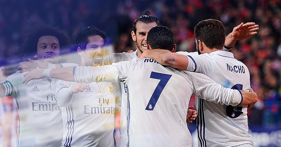 El Real Madrid ha subido su cotización en las casas de apuestas.