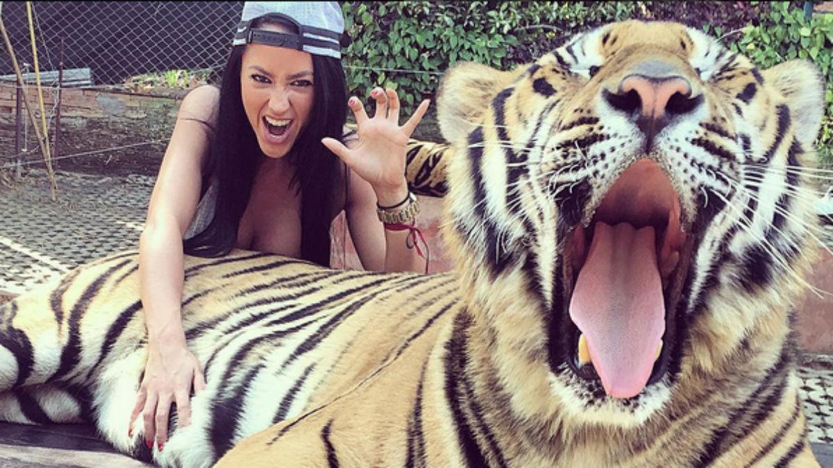Aurah Ruiz, en una imagen de 2016 que colgó en Instagram.