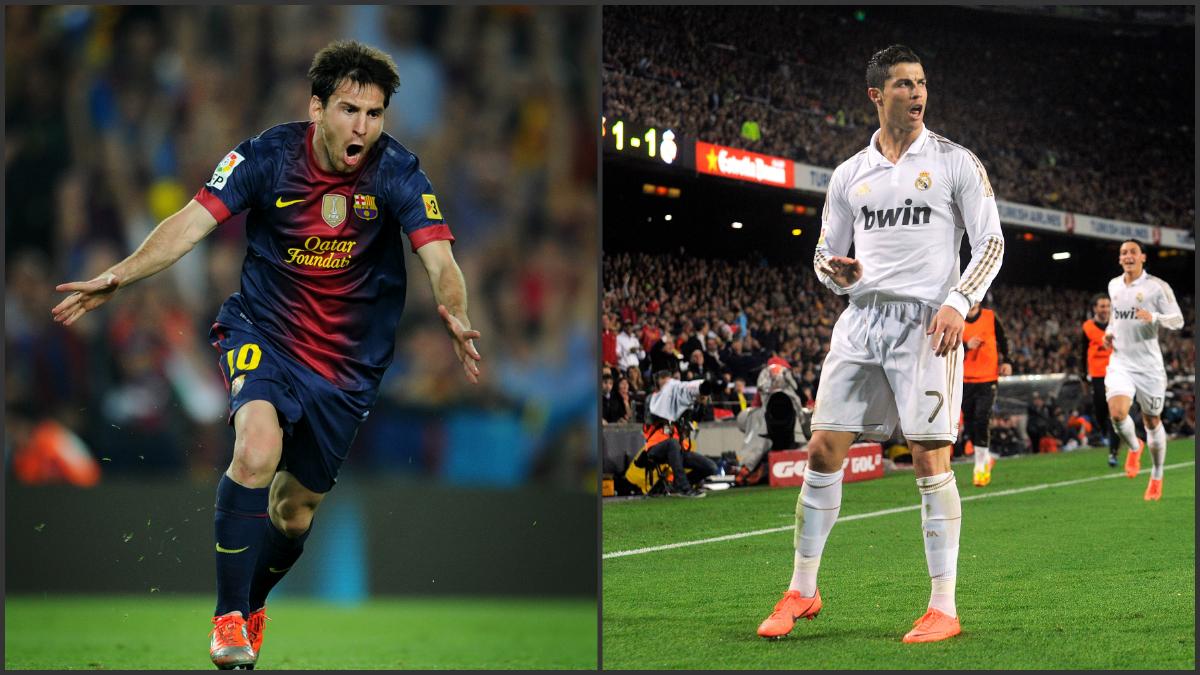 Cristiano marca más que Messi en los Clásicos.
