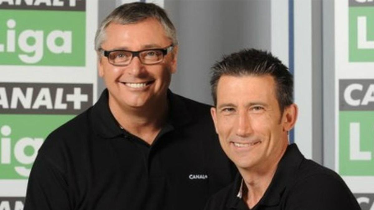 Michael Robinson y Carlos Martínez llevan tiempo en el centro de la polémica por sus comentarios.