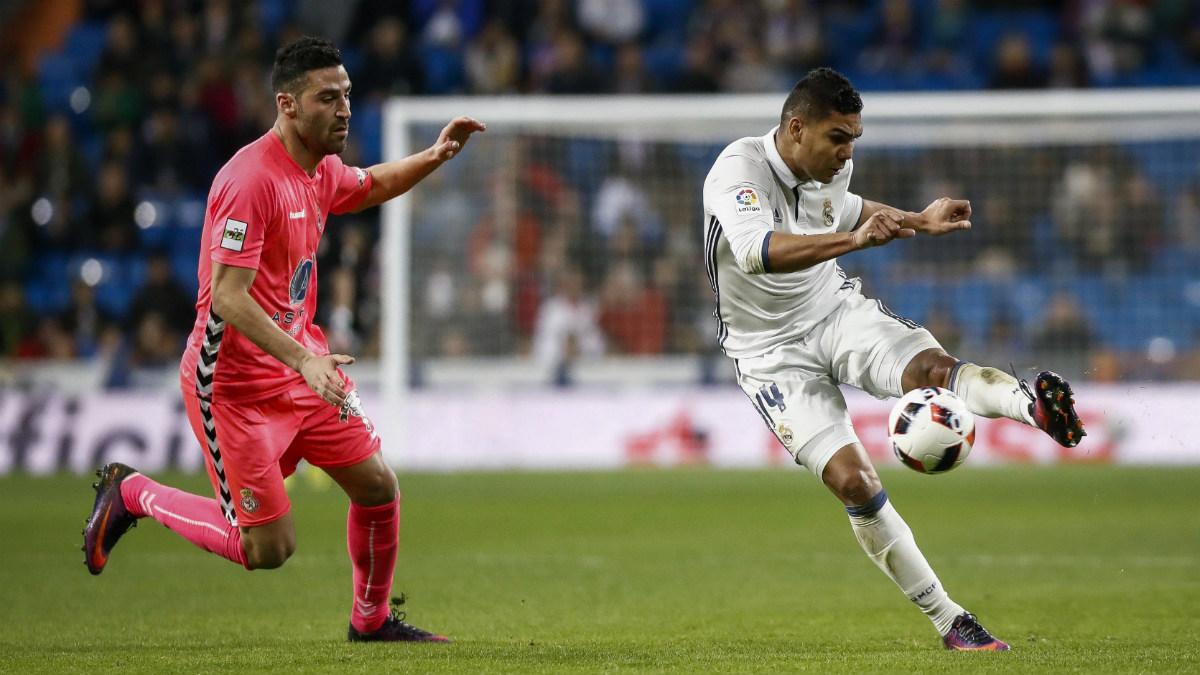 Casemiro jugó los 90 minutos ante la Cultural. (EFE)