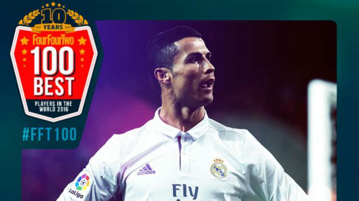 cristiano Ronaldo elegido mejor jugador del año para FourFourTwo.com.