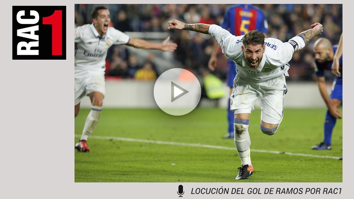 El gol de Sergio Ramos dejó destrozados a los comentaristas de RAC1.