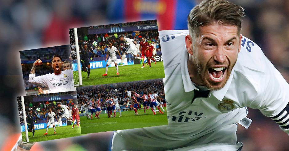 Ramos y sus goles de leyenda.