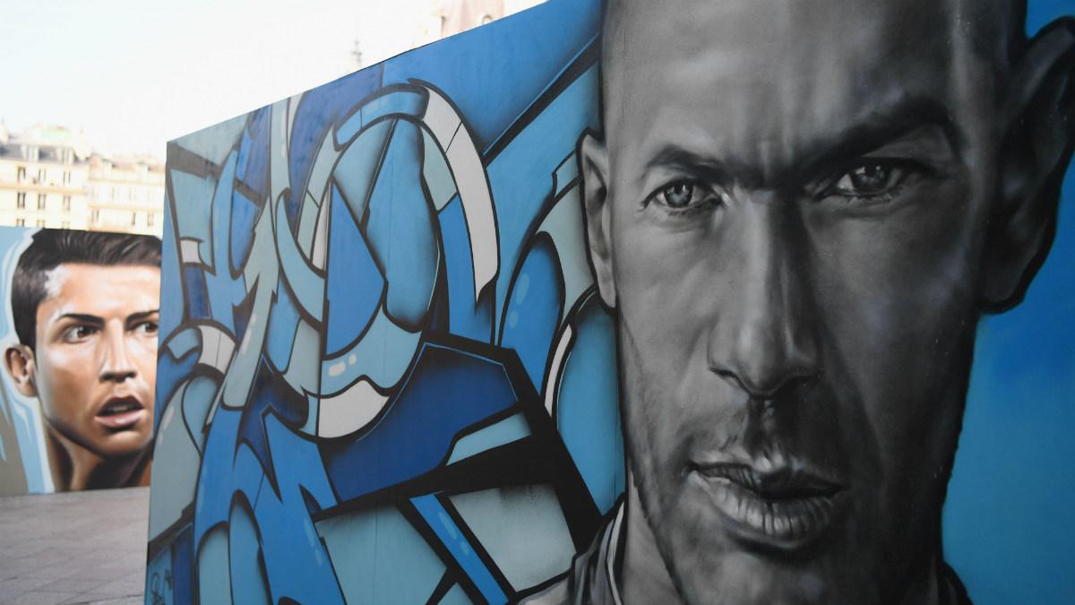 La sociedad formada por Zidane y Cristiano va camino de hacer historia en el Real Madrid. (Getty)