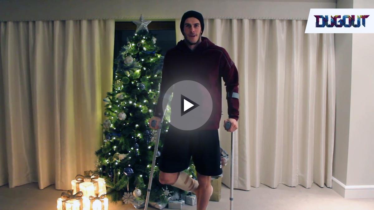 Bale habla de su tobillo y manda ánimos a sus compañeros.