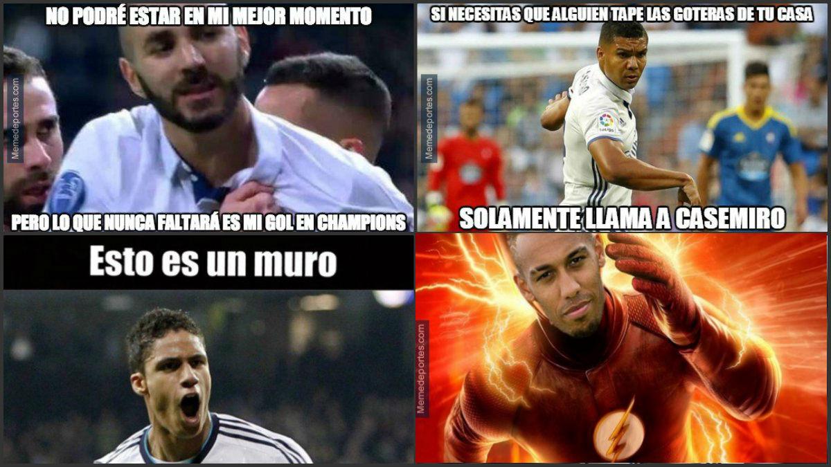 Los mejores memes del Real Madrid Vs Dortmund.