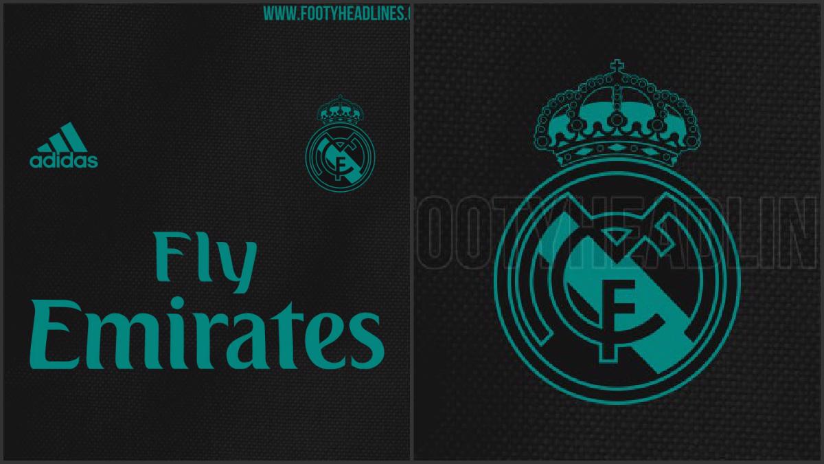 Detalles de la nueva camiseta del Real Madrid.