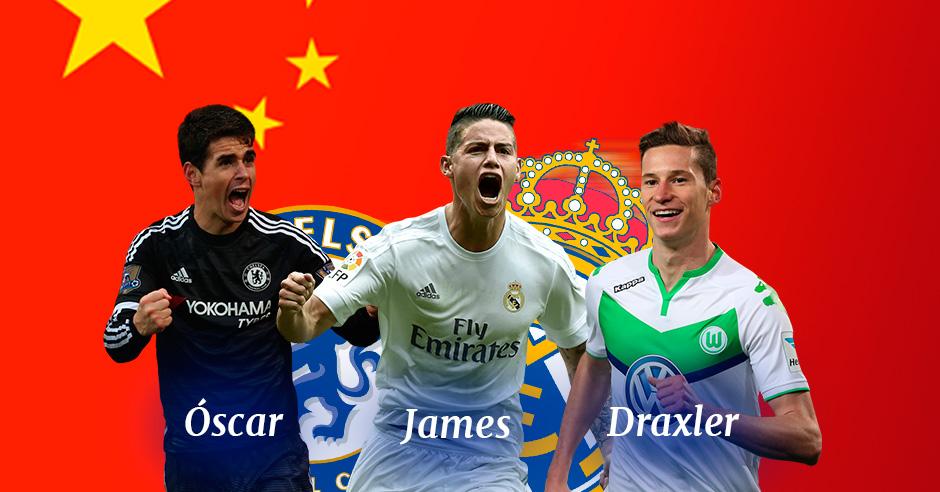 James Rodríguez puede provocar un efecto dominó en el fútbol europeo.