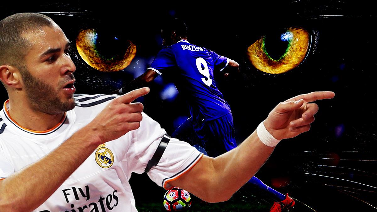 Karim Benzema no ha tenido protagonismo en forma de goles en las finales.