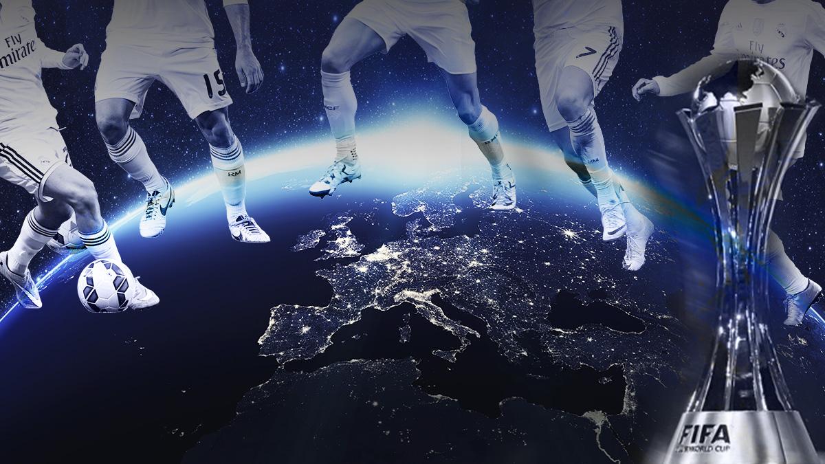 Los jugadores del Real Madrid esperan poner el mundo a sus pies.