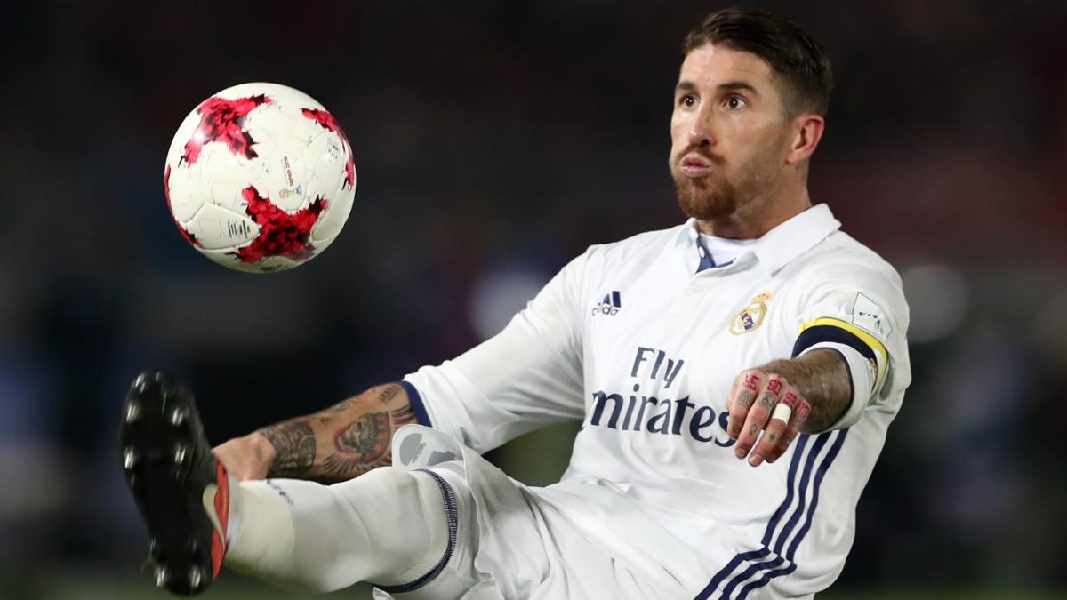 Sergio Ramos, en una acción de la final del Mundial. (AFP)