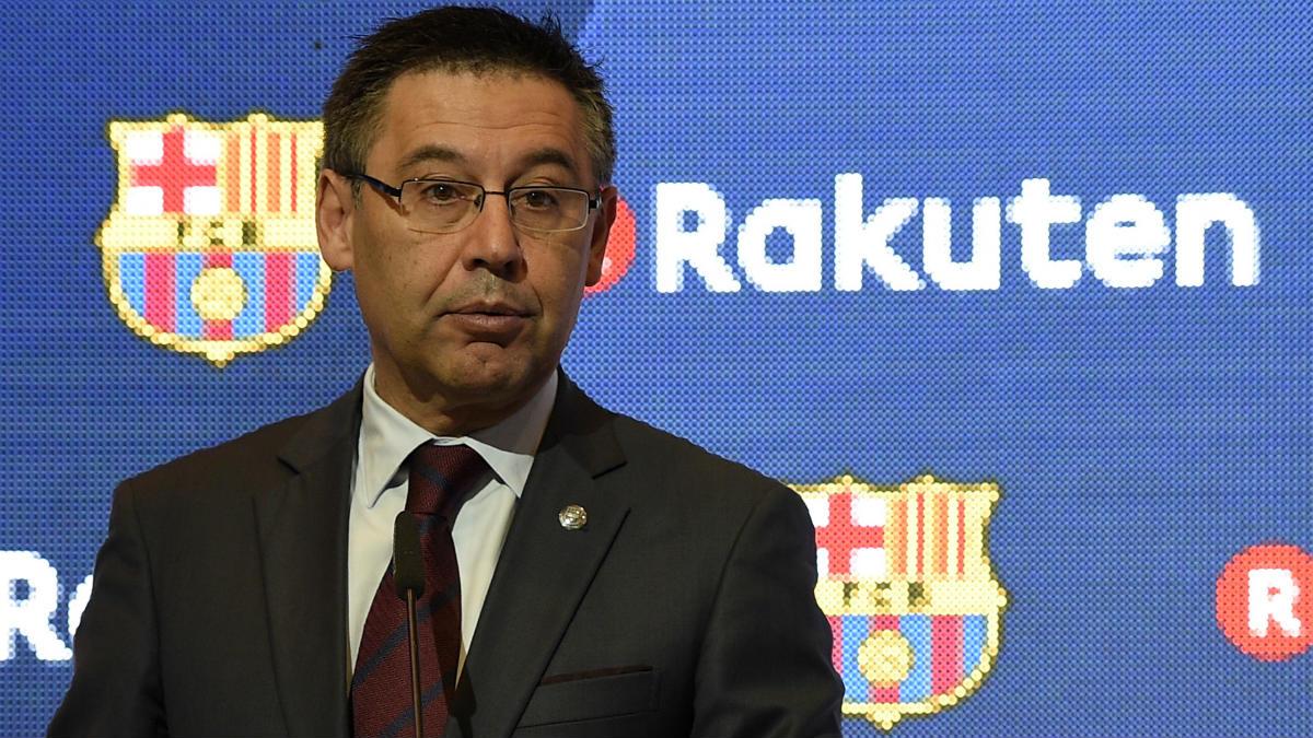 Bartomeu, presidente del Barcelona. (AFP)