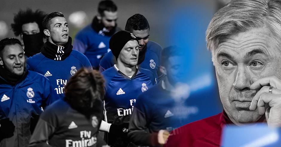El Real Madrid tiene claro que en este 2017 el equipo no se derrumbará físicamente.