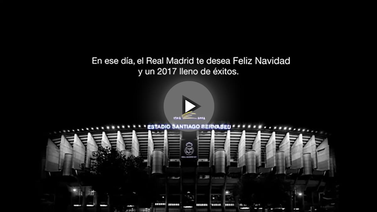 El Real Madrid envía un vídeo a sus socios.