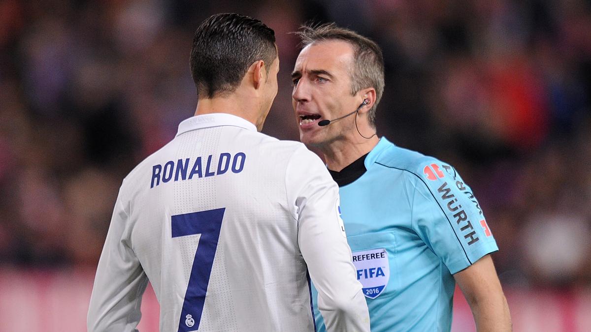Borbalán perjudicó al Real Madrid contra Valencia y Atlético de Madrid.