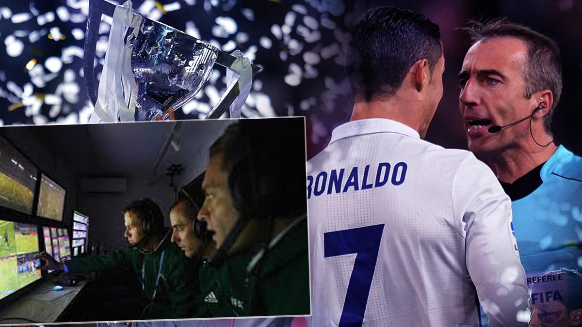 El Real Madrid está a favor del videoarbitraje.