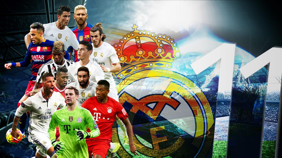 Carvajal, Ramos, James, Cristiano y Bale forman parte del once más caro del mundo.