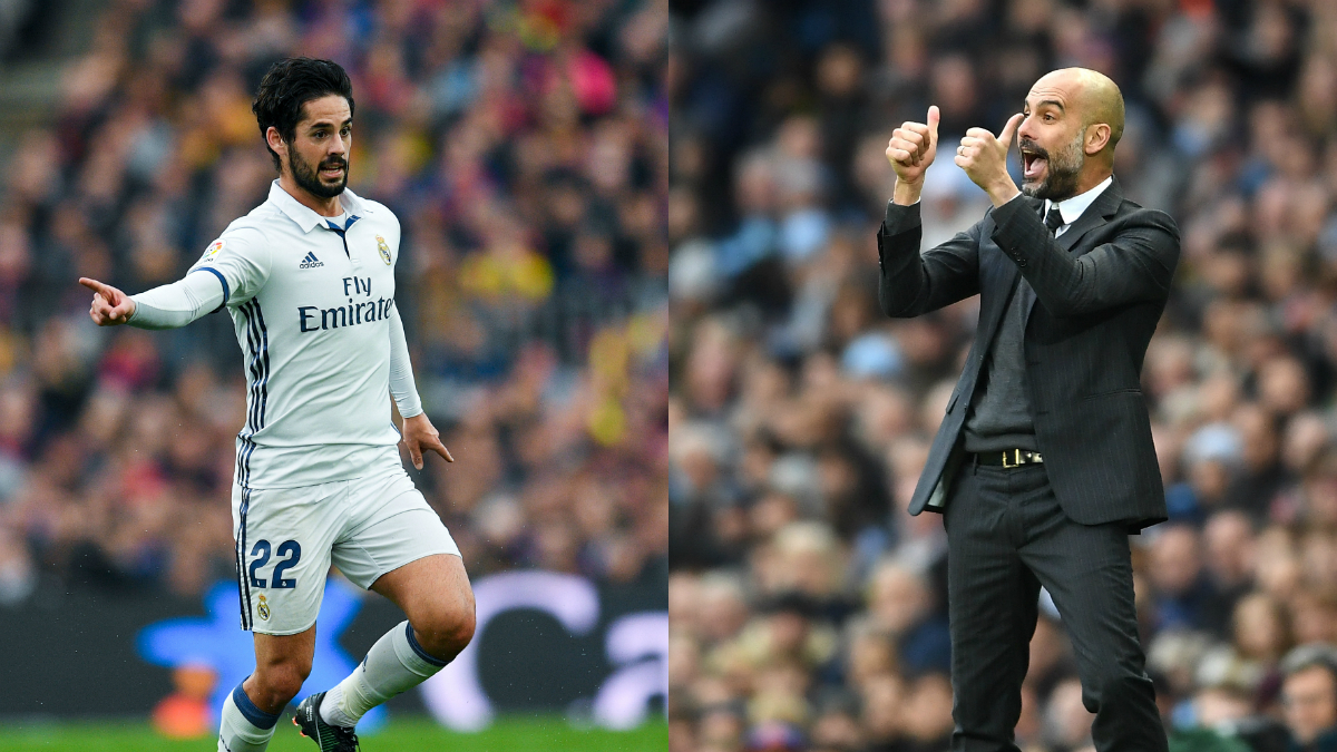 Guardiola se fija en Isco. (Getty)