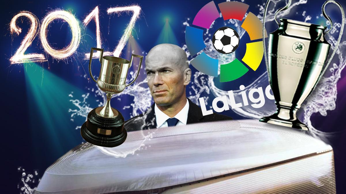 Los objetivos del Real Madrid para 2017 son ambiciosos.