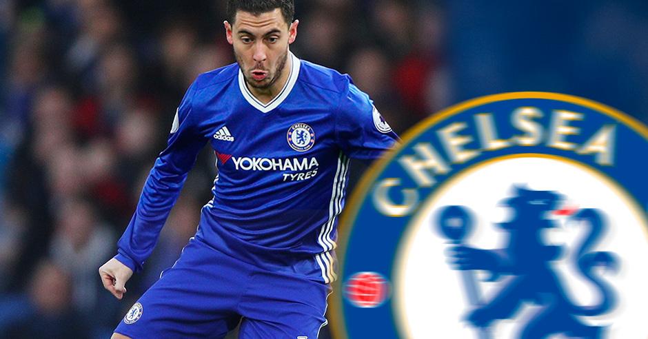 Eden Hazard es la estrella del Chelsea de Conte.