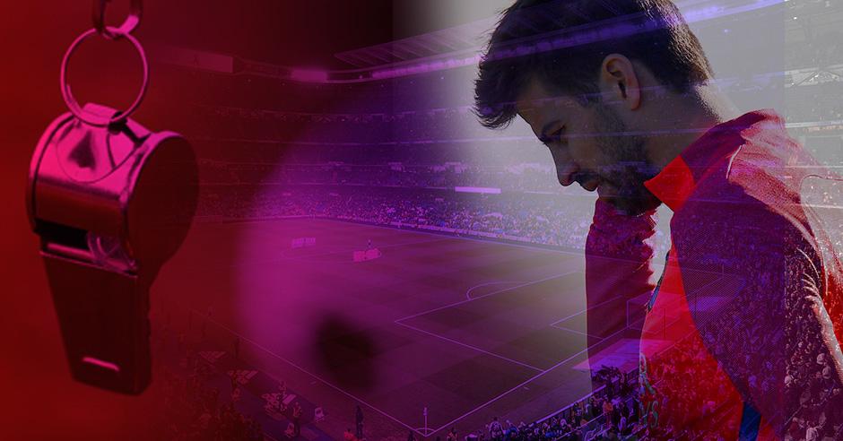 «Piqué se queja y el Barça lleva una década de favores arbitrales»