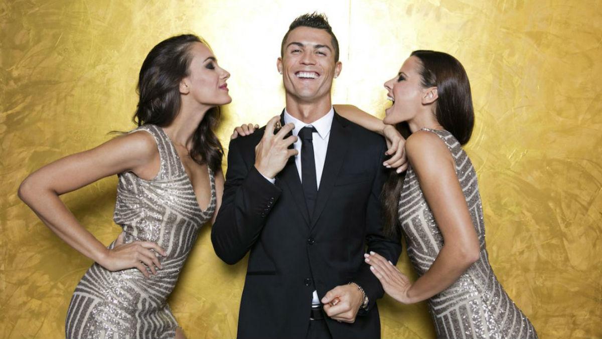 Cristiano Ronaldo, en un anuncio. (Getty)
