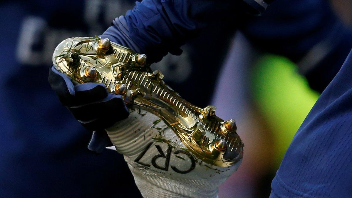 Así son las nuevas botas de Cristiano Ronaldo.