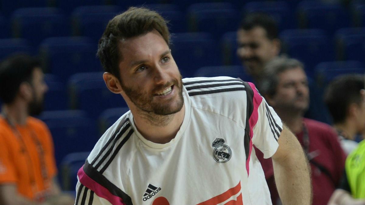 Rudy Fernández quiere levantar otro título con el Real Madrid.