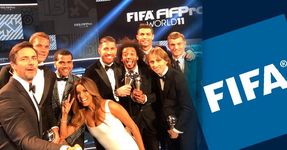 El Real Madrid tiene mayoría en el once ideal de la gala FIFA The Best