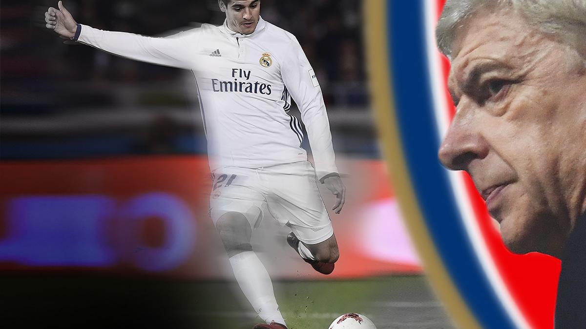 Wenger no se olvida de Morata