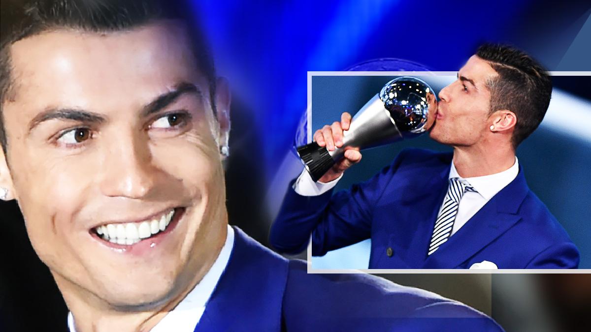 Cristiano Ronaldo consiguió un premio que no tenía en sus vitrinas.