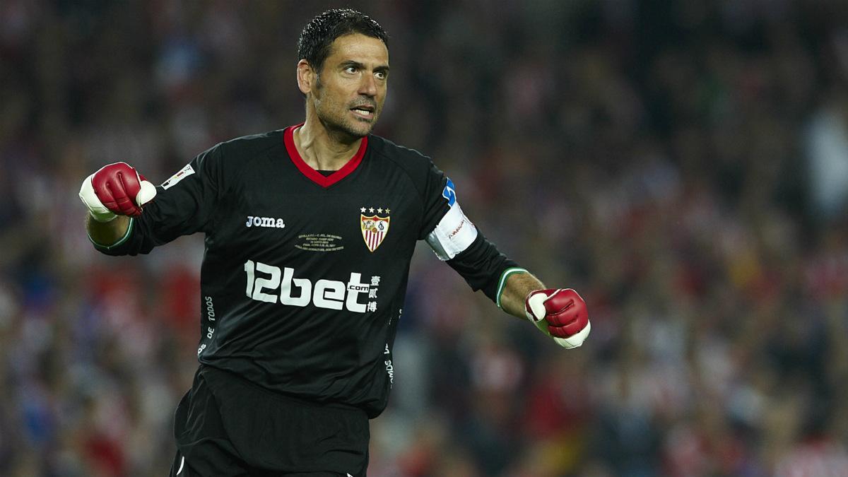 Andrés Palop acuso a Sergio Ramos de provocar a la afición del Sevilla.