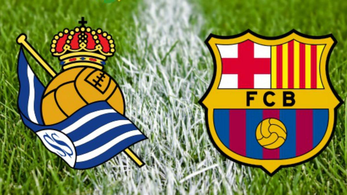 Real Sociedad Vs Barcelona.