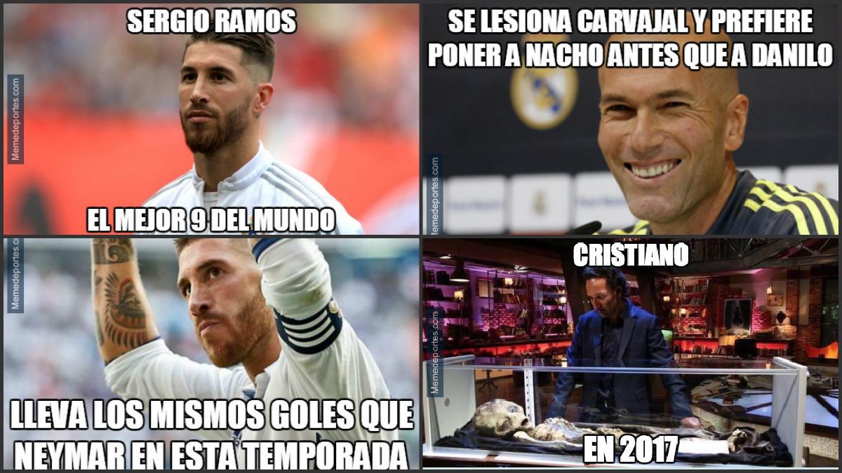 Los mejores 'memes' del Real Madrid-Málaga.