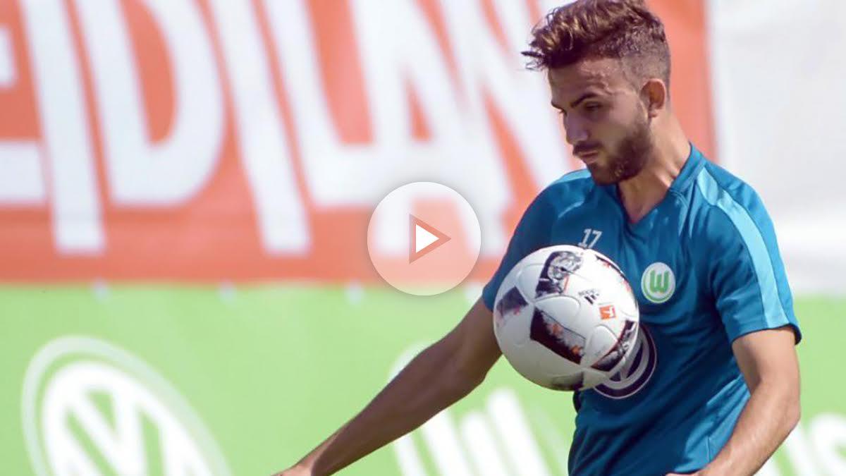 Borja Mayoral se sale con el Wolfsburgo.