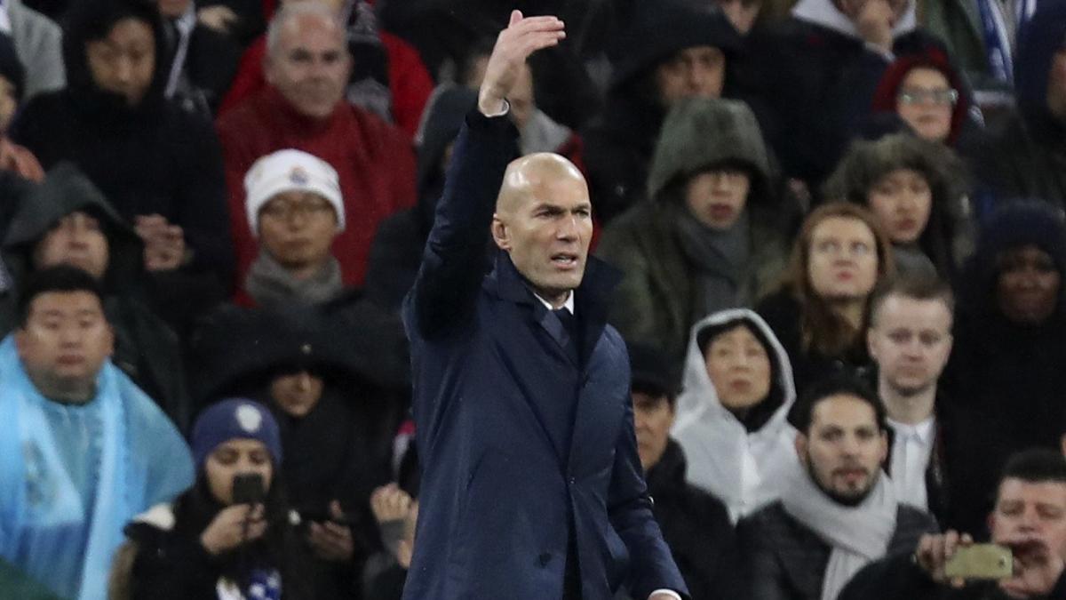 Zidane: «Es una victoria importante después de algunos días difíciles»